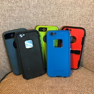 Set of 5 Phone Cases (IPhone 6)
